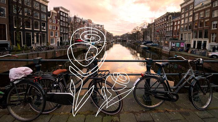 Amsterdam – Pärlan i tulpanernas land